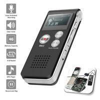 Digital Voice Recorder Dictaphone Audio Sound Recorder Mini Small MP3 Lecture