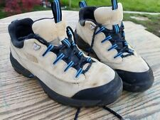 The North Face Womens US 9 EU 40.5 Low Hiking Shoe Boots Tan Blue Black