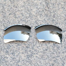 RAWD POLARIZED Replacement Lenses for-Oakley Flak 2.0 XL Silver Mirrored