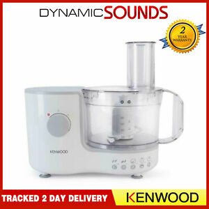 Kenwood 400 Watts 1.4 Litres 13 Functions Compact Food Processor In White FP120