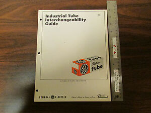 General Electric Industrial Tube Interchangeability Guide 1969