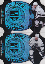 14-15 Black Diamond Anze Kopitar Championship Rings Stanley Cup LA Kings 2014