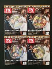 Elvis Presley TV Guide Promotion FREE CD-ROM, 4 CD Series - NM-
