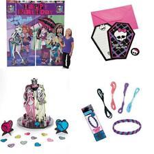38pc Monster High Birthday Friendship Bracelets, Invites, Backdrop, Table Topper