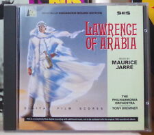 LAWRENCE OF ARABIA MAURICE JARRE OST SOUNDTRACK COMPACT DISC SILVA SCREEN 1993