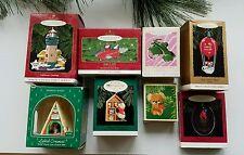 8 Hallmark Keepsake Ornaments. Collector Series