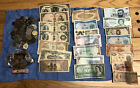 Mixed World Coin/Wheat Penny/Paper Money Lot (4+ Lbs Of Coins!)*375 Wheaties!!