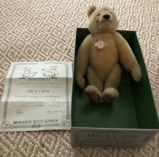 "Steiff ""Dicky Bear 1930"" LE No. 3343 of 20,000 NRFB-MINT Condition"