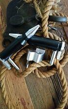 Flat Black Jeep Wrangler 1976-2006 CJ TJ And YJ Door Hinge Foot Pegs!!!