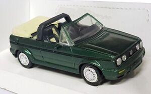 NewRay 1/43 Scale -4850 Volkswagen Golf Cabrio 1988 Dark Green Diecast Model Car