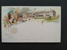 Columbian Exposition: Unused Woman's Building Postal Card
