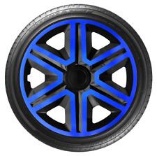 """4x Wheel Covers Hub Caps 16Inch Universal Wheel Trims ABS 16"""" Trim [AKTNBlue]"""