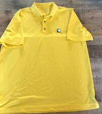 Bobby Jones X-h2o Yellow Golf Polo size L