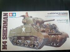 Tamiya M4 Sherman Tank Early Production Model Set (Scale 1:35) 35190 NEW