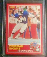 1989 Score #211 Thurman Thomas Buffalo Bills MINT Sharp well centered