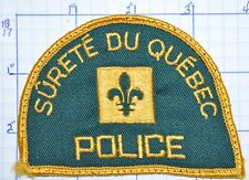 CANADA, QUEBEC POLICE SURETE DU QUEBEC VERSION 2 PATCH