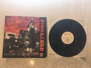 biohazard urban discipline vinyl LP cro-mags agnostic front the icemen nyhc