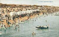Southsea Beach postcard (Photochrom, no. G 47359) 1910s. Passed by Censor 1917