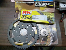 KIT CHAINE FRANCE EQUIPEMENT DERBI SENDA SM 2002 - 2003 14 x 53 CHAIN 420