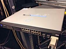 Cisco Linksys SRW2016,16-Port Gigabit Switch 10/100/100