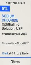 Sodium Chloride Ophthalmic Solution 5%, 15ml (PACK OF 3)