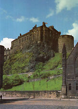 postcard Scotland  IEdinburgh Castle the Palace and Half Moon Batt unposted