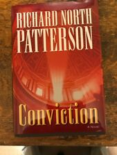 CONVICTION BY RICHARD NORTH PATTERSON, LARGE PRINT, HARD COVER.