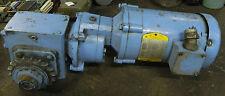 Baldor 1/4 HP Motor, KM3454 w/ Gearbox, Used, WARRANTY