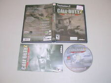 CALL OF DUTY 2 BIG RED ONE (Playstation 2 PS2) Complete CE