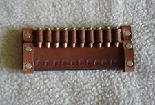 SASS LEATHER - 22 AMMO CARTRIDGE HOLDER SLIDE -(20 days to get it done)10 LOOP