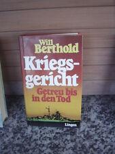 Kriegsgericht / Getreu bis in den Tod, 2 Romane in eine