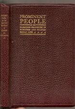 Prominent people of Maritime Provinces Nova Scotia 1922