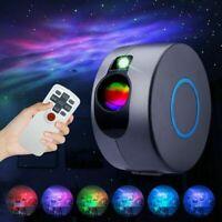 Rotation LED Starry Sky Projector Light Ocean Wave Star Galaxy Nebula Night Lamp
