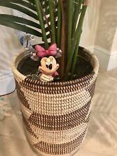 Disney Showcase Collection/Jim Shores Minnie-Small Planter Stake Retired!Nib