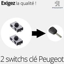 2 X switch pour clé télécommande Peugeot 107, 307 - SW01
