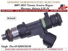 1 Fuel Injector OEM Bosch for 2007-11 Nissan Sentra Rogue Altima Murano 2.5L I4