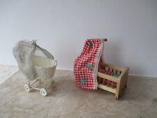 Puppen stubenwagen in antike original puppenstuben möbel bis