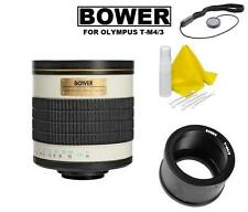 Bower 500mm ATM43 Telephoto Mirror Lens For Olympus & Panasonic Micro 4/3 Camera