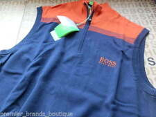 HUGO BOSS Zip Neck Medium Knit Men's Jumpers & Cardigans