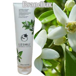 Liz Earle Cleanse & Polish Hot Cloth Cleanser Neroli 250ml + 2 Muslin Cloths