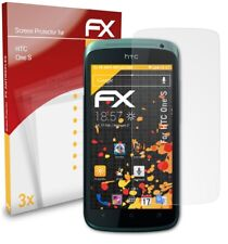 atFoliX 3x Screen Protector for HTC One S Screen Protection Film matt&shockproof