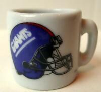New York Giants Mug miniature 1 1/4 inch tall