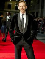 Men Black Smoking Jacket Blazers Designer Shwal Lapel Velvet Tuxedo Dinner Coat