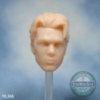 """ML366 Custom Cast head use w/ 6"""" Marvel Legends Star Wars Black Series"""
