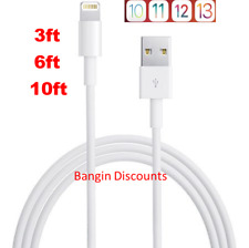 OEM for Apple Lightning USB Charger Cable For iPhone 6 7 8 X XR 11 3ft 6ft 10ft