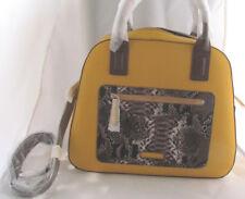 Vera Bradley  Bowler Satchel Maize ( YELLOW ) Shoulder bag NWT