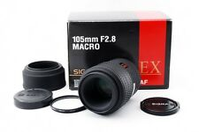 "Sigma 105mm f/2.8 EX Macro AF Lens for Canon EF [Exc+++] From Japan [018] ""READ"""