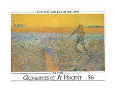 GRENADINES OF ST.VINCENT 1991 #768 S/S VF NH, PAINTING FROM VINCENT VAN GOGH !!
