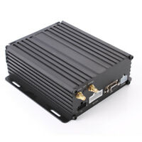 "4Ch GPS 4G 3G Wifi Car Vehicle HD Mobile DVR Video Recorder 2.5"" Sata HDD Card"