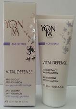 YonKa Vital Defense Anti-Oxidant & Pollution 1.76 oz 50 ml NEW Same Day Shipping